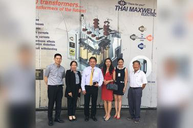 TME honoured with visit by management team of Electricity Generating Authority of Thailand